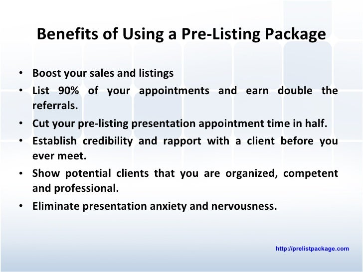 Real Estate Presentation - Steps to a Successful Real Estate Listing …