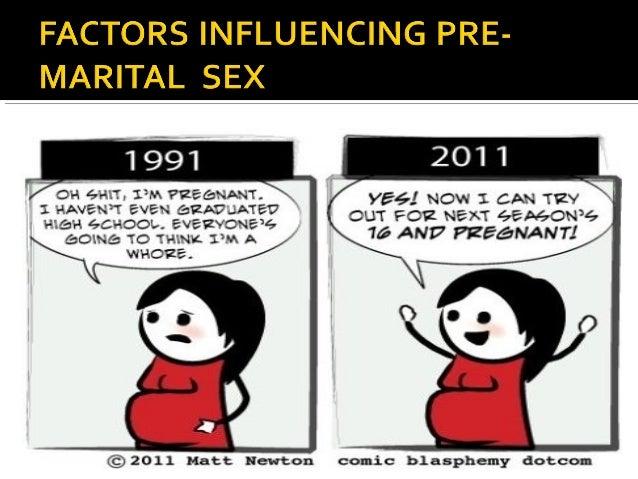 Premarital sex bad character