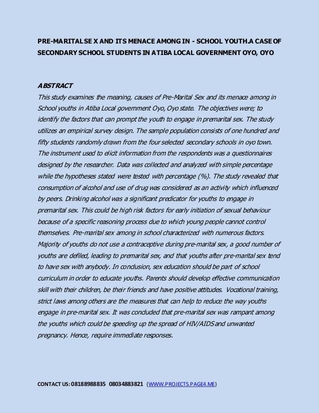 Media role in premature sex in adolescent