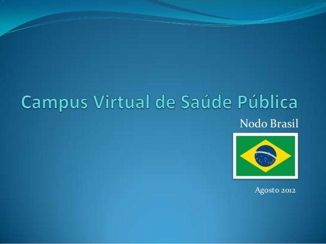 Nodo Brasil  Agosto 2012