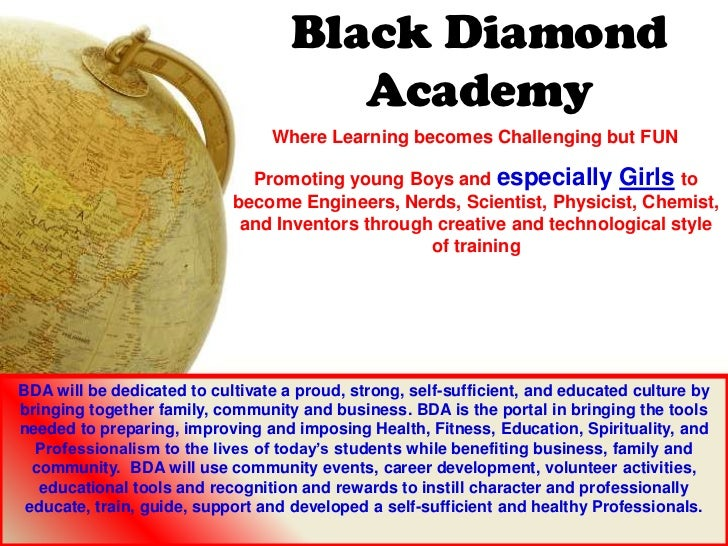 Black Diamond                                       Academy                                 Where Learning becomes Challen...