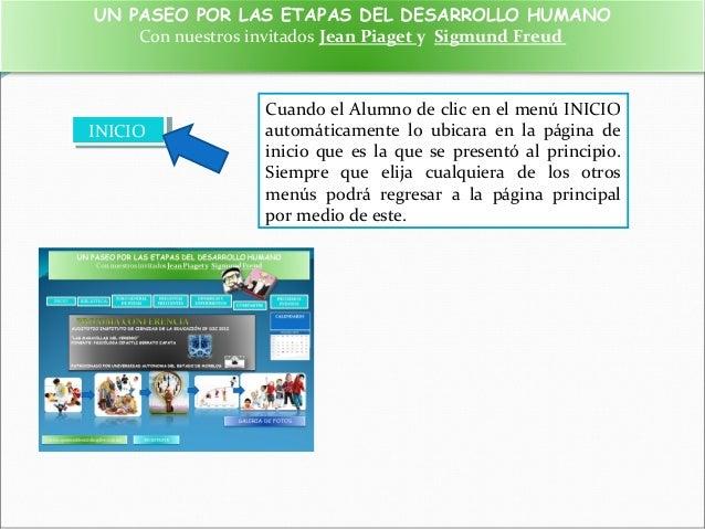 ETAPAS DEL DESARROLLO HUMANO SEGUN PIAGET Y FREUD Slide 2