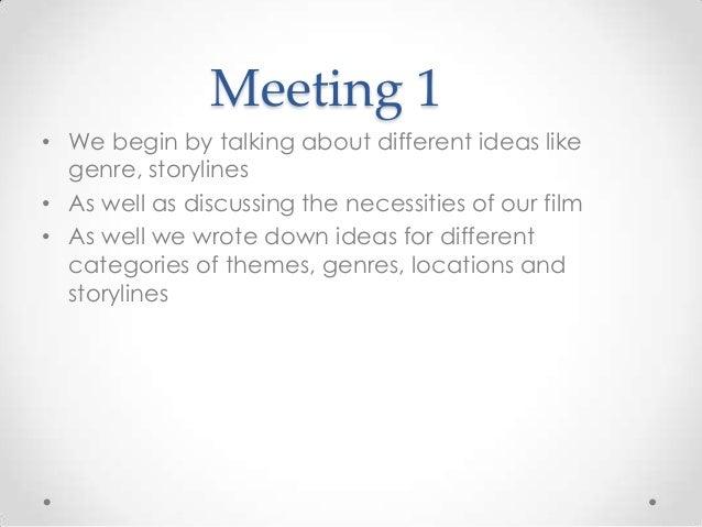meeting summaries