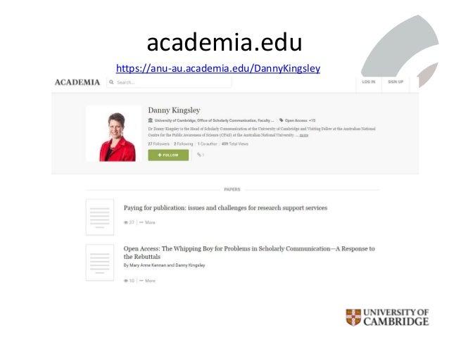 academia.edu https://anu-au.academia.edu/DannyKingsley