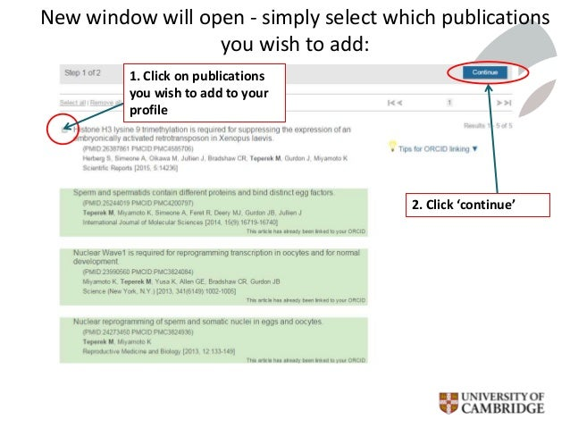 New window will open - simply select which publications you wish to add: 1. Click on publications you wish to add to your ...