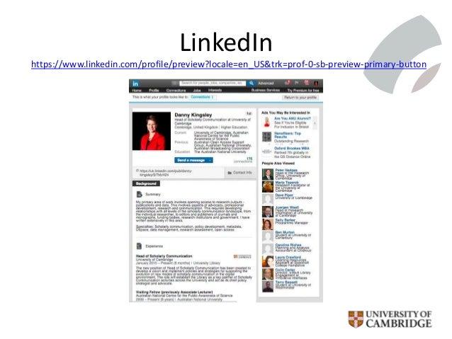LinkedIn https://www.linkedin.com/profile/preview?locale=en_US&trk=prof-0-sb-preview-primary-button