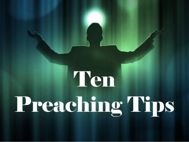 TenPreaching Tips