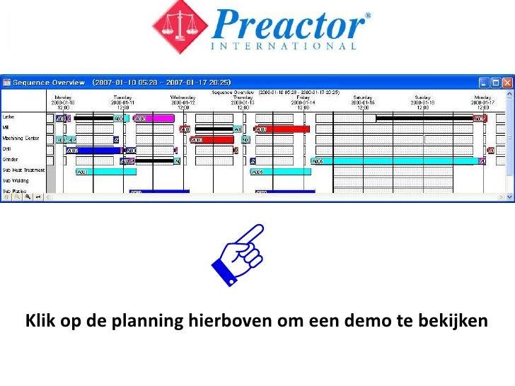 preactor demo