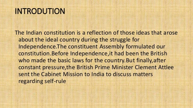 Preamble to the constitution 4