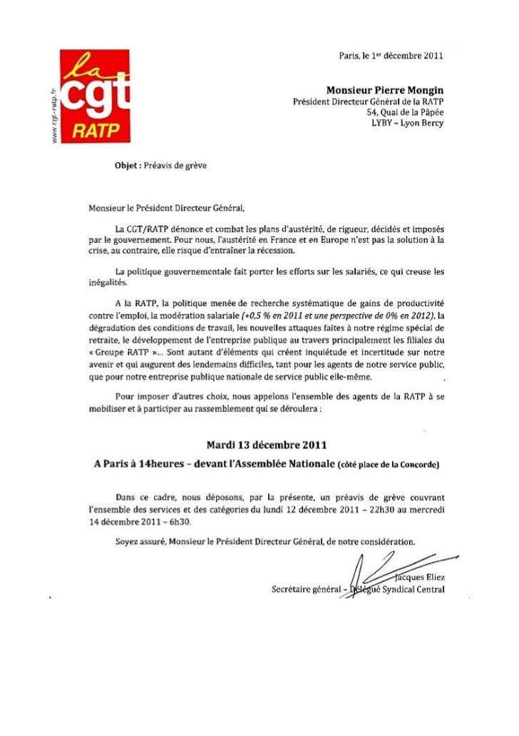 Preavis cgt ratp greve 13-decembre-2011