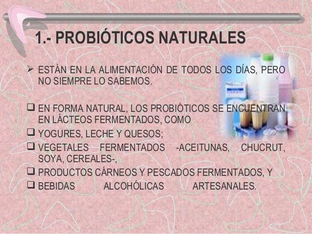 Prebi ticos y probi ticos - Alimentos con probioticos y prebioticos ...