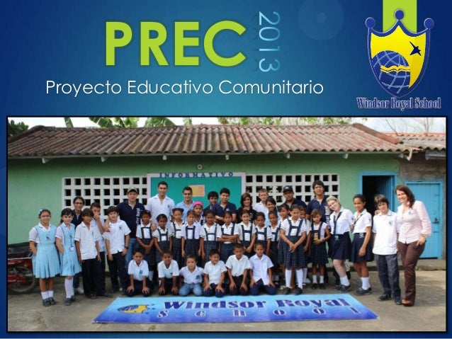 PRECProyecto Educativo Comunitario