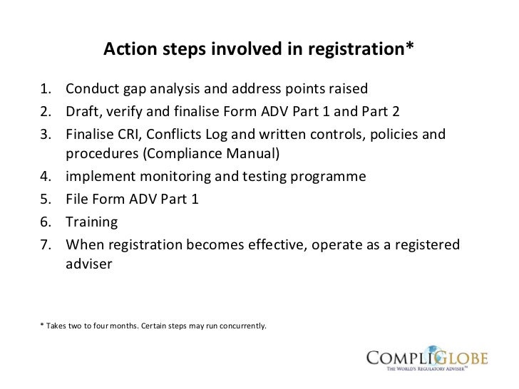 Guide To Us Advisers Act Sec Registration