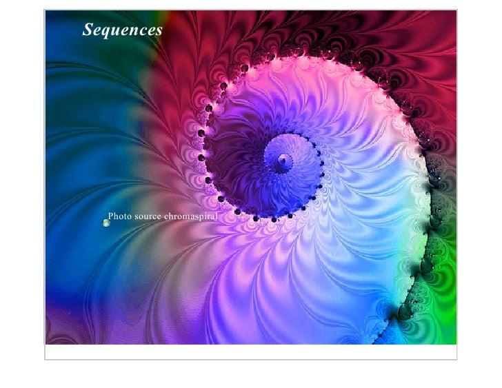 Sequences       Photo source chromaspiral