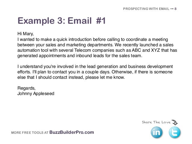 Cold emailing templates for prospecting for Automated templates for intros