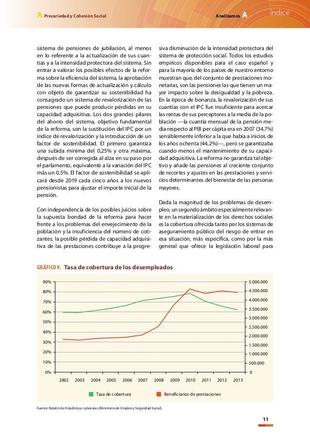 Precariedad y cohesi n social pobreza 2014 - Actualizacion pension alimentos ipc ...