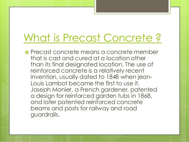 advantages and disadvantages of precast concrete pdf