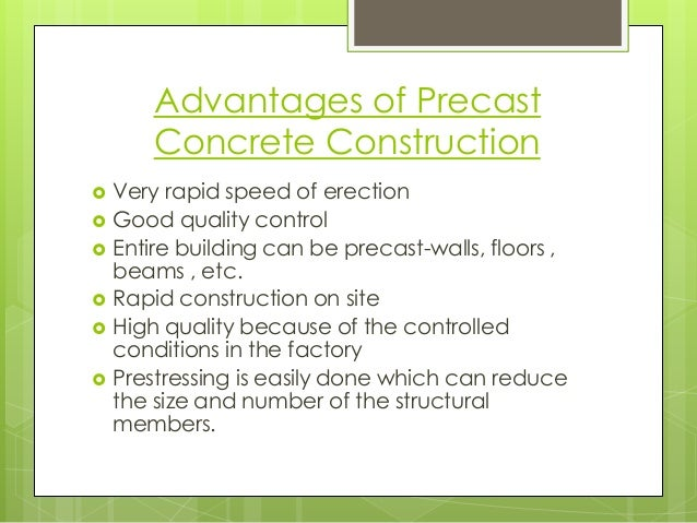 Precast concrete construction for Hollow to floor meaning