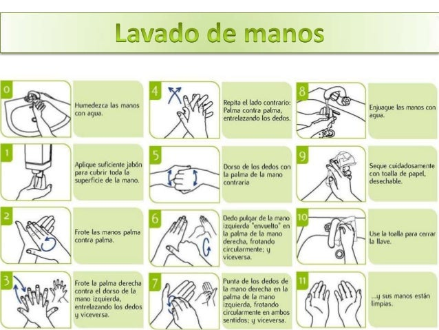 Precauciones est ndar for Lavado de manos en la cocina