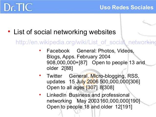 List of dating websites wiki
