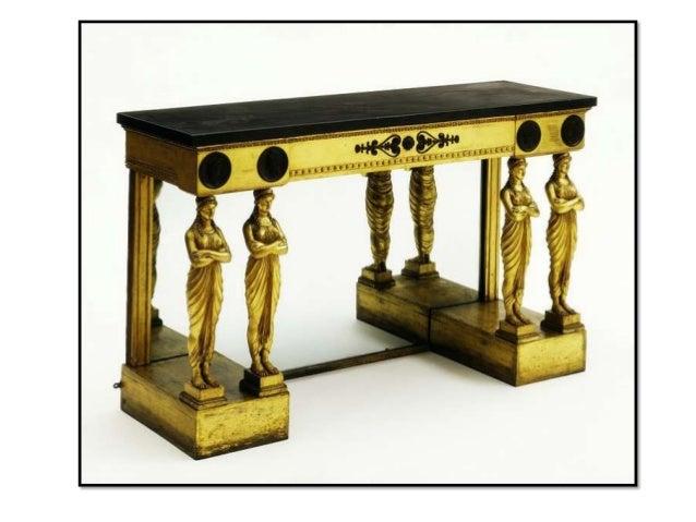 El mueble regency ingles for Muebles estilo imperio