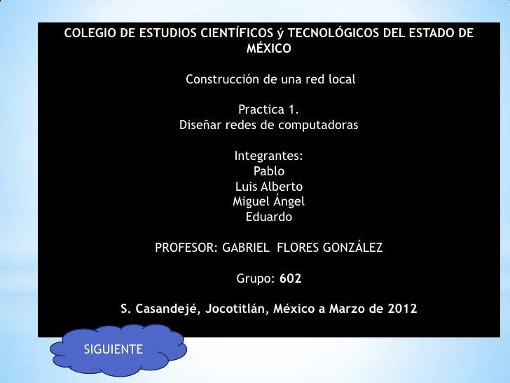 COLEGIO DE ESTUDIOS CIENTÍFICOS ý TECNOLÓGICOS DEL ESTADO DE                           MÉXICO                  Construcció...