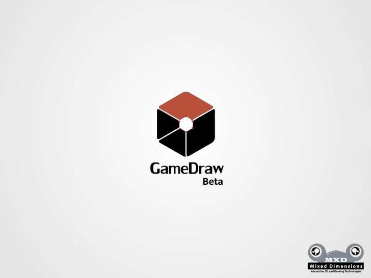 Que es GameDraw?GameDraw es una extension para Unity que permite crear y editar modelos 3D dentrode Unity.Que ofrece?1. Ed...