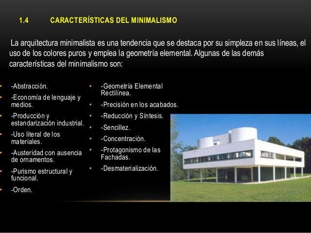 Arquitectura minimalista for Que es diseno en arquitectura