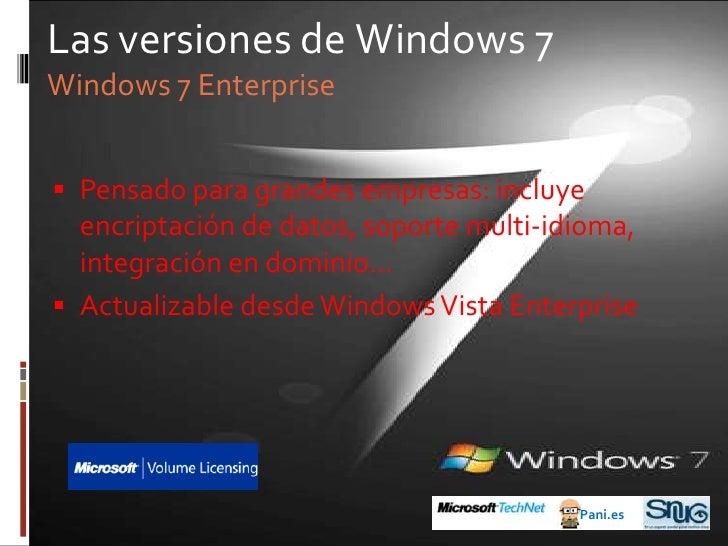 Antes de Windows 7<br />1985: Windows 1.0<br />Pani.es<br />