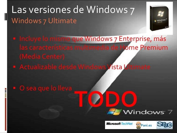 Antes de Windows 7<br />1990: Windows 3.0<br />Pani.es<br />