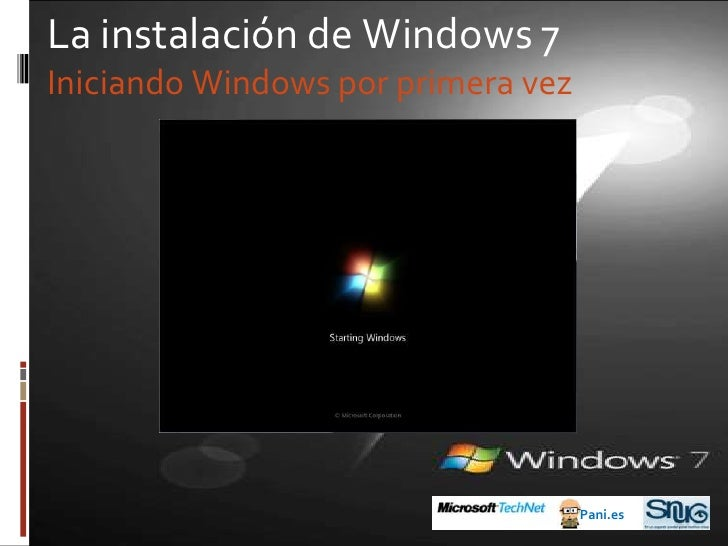 Antes de Windows 7<br />2006: Windows Vista<br />Pani.es<br />