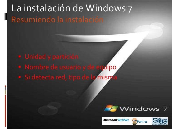 Las versiones de Windows 7<br />Pani.es<br />