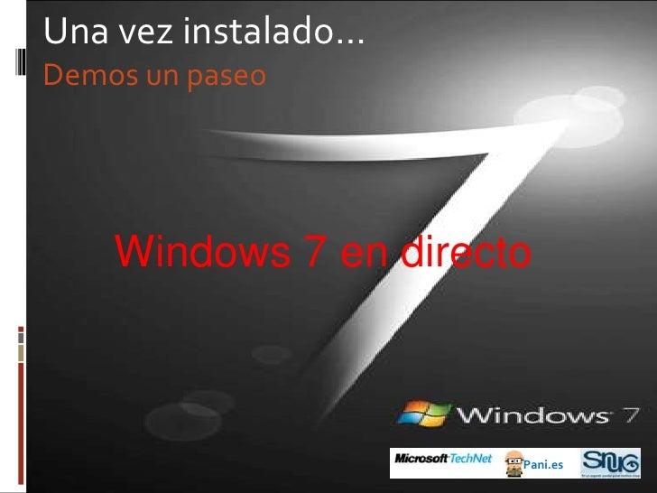 Las versiones de Windows 7<br />¿Qué tenemos (aún) con Windows XP?<br />Windows XP SP3<br />Professional<br />Windows XP S...
