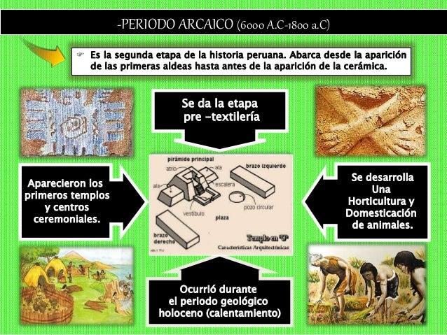-VESTIGIOS del PERÍODO ARCAICO INFERIOR- SANTO DOMINGO 7 000 ac 1° horticultor de la costa (calabaza, pallar y zapallo) , ...