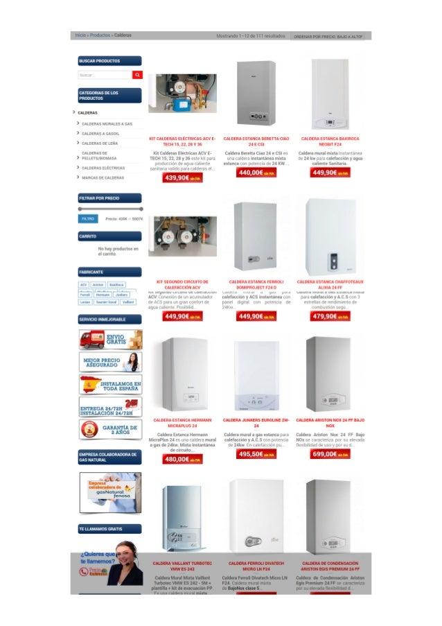 Precio calderas tienda online de venta de calderas al - Precios de calderas de gas ...
