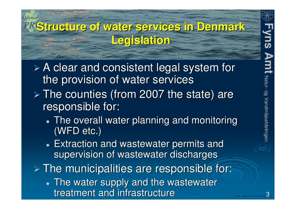 Private Legal Groundwater Treatment For Drinking Water