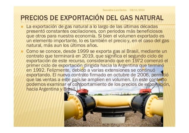 Precios del wti brent precios de exportaci n del gas de - Precios termos de gas ...
