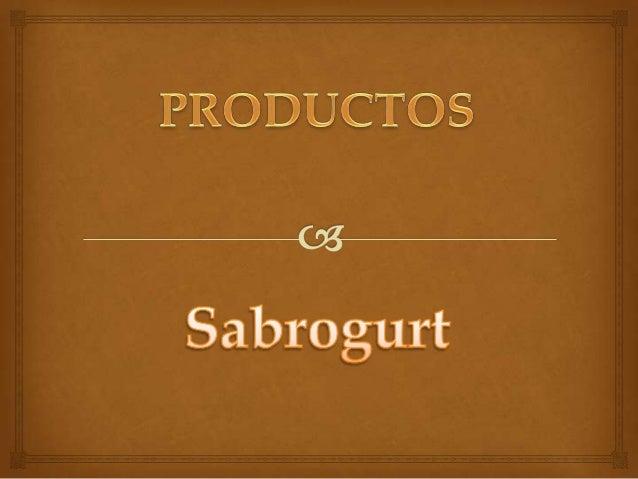 • LOS PRODUCTOS QUE MANEJAMOS SON: YOGURT GRANDE (GARRAFA)    YOGURT PEQUEÑO (PERSONAL)