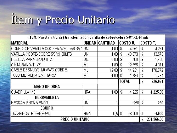 Precios unitarios 2010 idql for Precio mano de obra construccion
