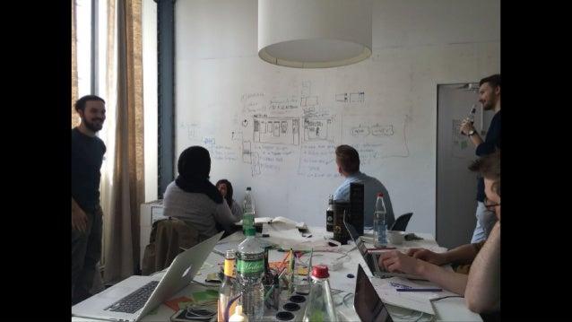 The feedback on the Designtools Hackday was very good and heartwarming.