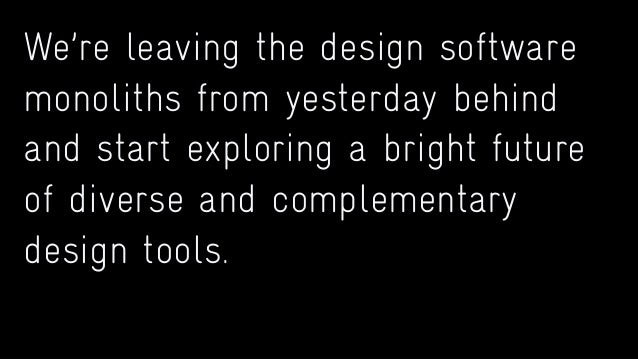 There are too many tools that just help us build instead of help us evaluate, think and understand.