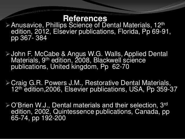 phillips science of dental materials 12th edition pdf