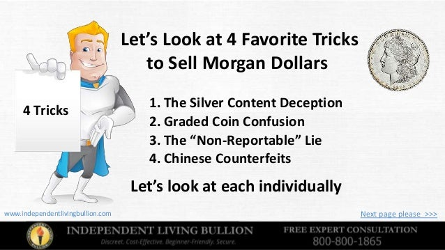 Precious Metals Buying Guide Morgan Silver Dollars V S