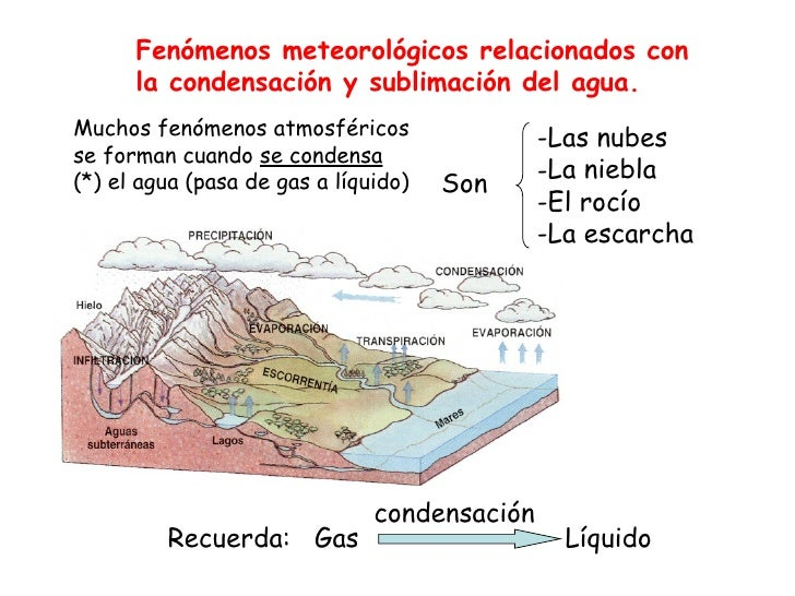 <ul><li>Las nubes </li></ul><ul><li>La niebla </li></ul><ul><li>El rocío </li></ul><ul><li>La escarcha </li></ul>Son Mucho...