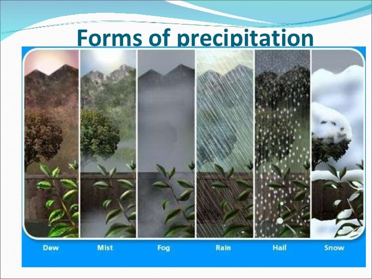 Image result for picture of precipitation