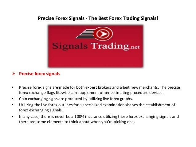 Forex trading signals best