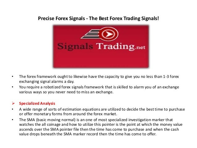 The best forex signal