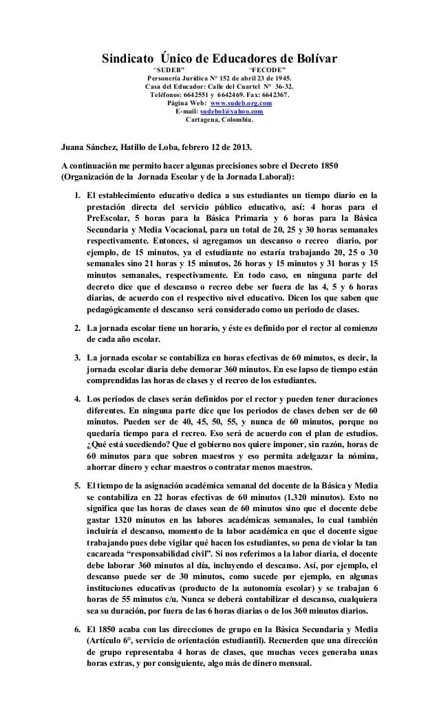 """Sindicato Único de Educadores de Bolívar                        """"SUDEB""""                       """"FECODE""""                    ..."""