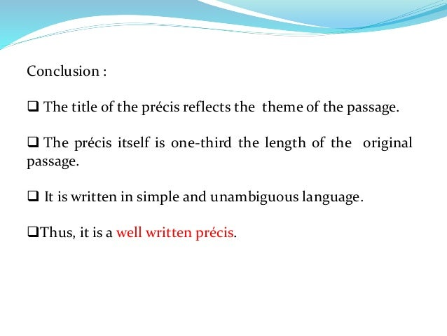 sample of precis writing Precis writing i report writing i ssc cgl tier 3 descriptive  most important topics for ssc cgl tier 3, important topics , ssc cgl tier 3 papers , previous year papers ssc cgl tier 3 , descriptive paper , study material ssc cgl tier 3 , ssc cgl study material tier 3 pdf , report writing topics ssc cgl.