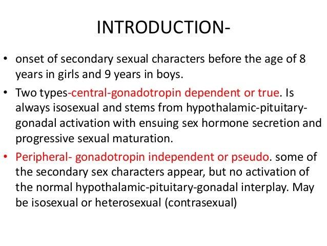 Precocious puberty Slide 2